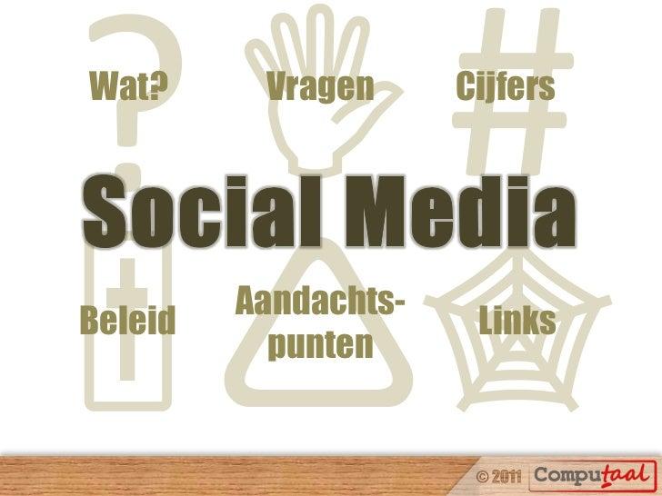 Social Media beleid en strategie: bewustwording