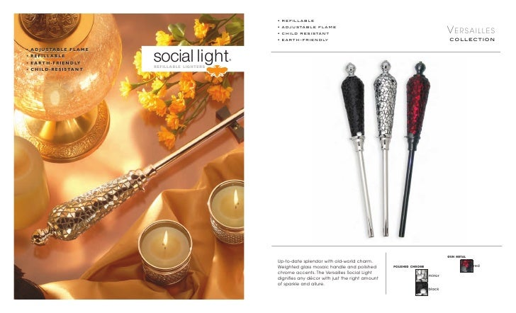 • refillable                                                 • adjustable flame                                           ...