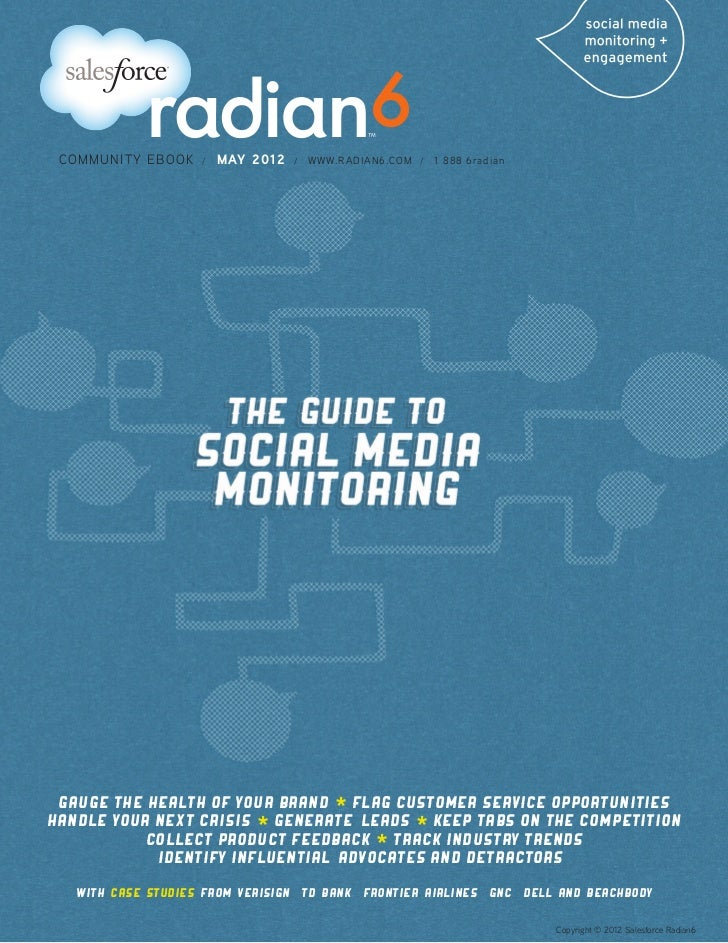 COMMUNITY EBOOK         /   MAY 2012   /   WWW.RADIAN6.COM /   1 888 6radian Gauge the Health of Your Brand * Flag Custome...