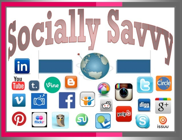 Socially Savvy Found Online