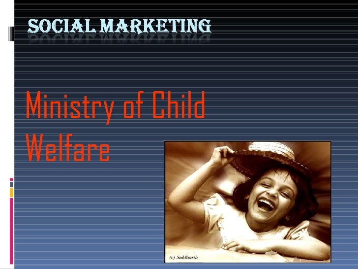 Ministry of Child Welfare