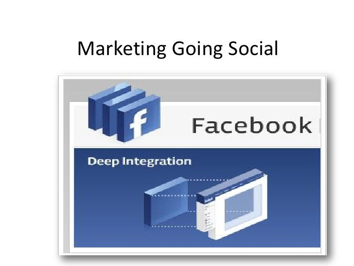 Marketing goes social