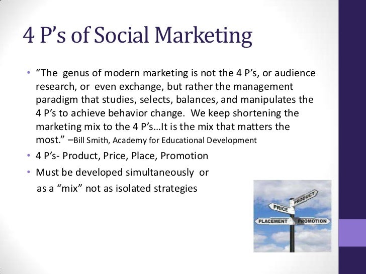 effectiveness of a social norms marketing Social responsibility/social  or the media mix that made the advertising effective generally, marketing mix  think of the testing company's norms .