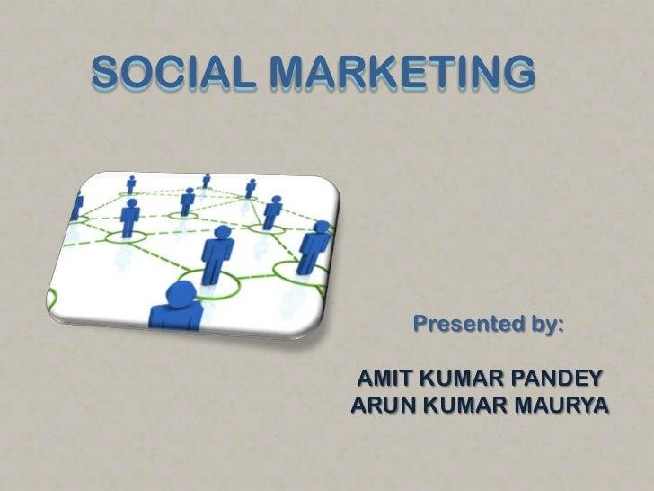 Social marketing on media...