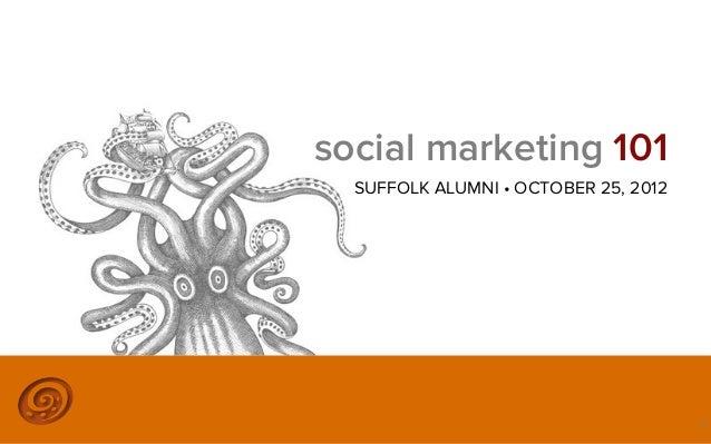 Social Marketing 101
