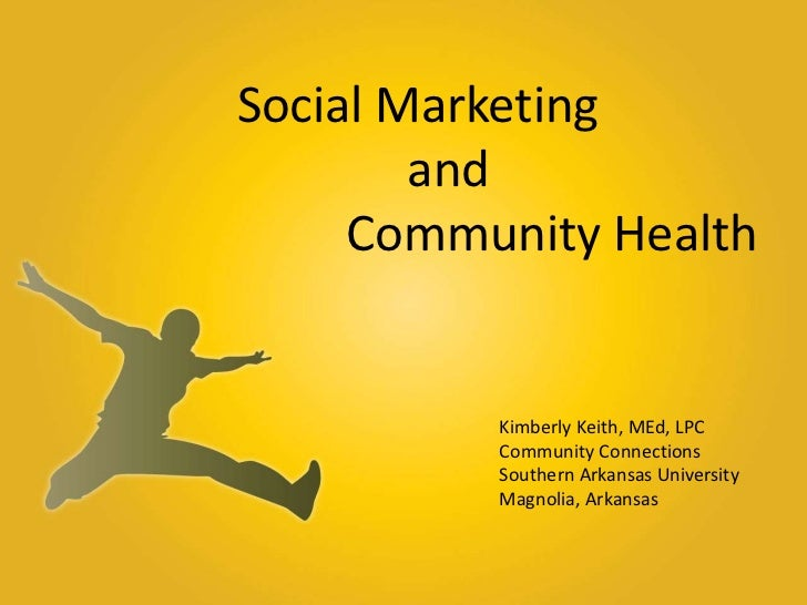 Local Social Marketing and Public Health in Rural Communities