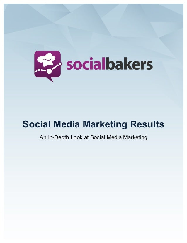 Social marketing survey results Q1 2014