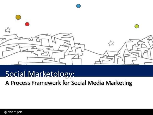 Ric Dragon, CEO, DragonSearch - @ricdragonSocial Marketology:A Process Framework for Social Media Marketing@ricdragon