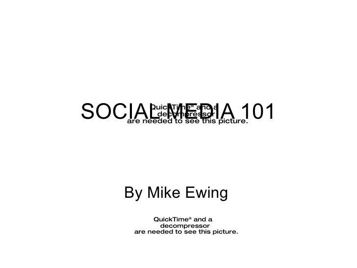 Social Media 101: For Nonprofits