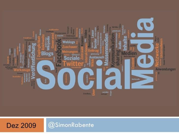 Social Media in Deutsch