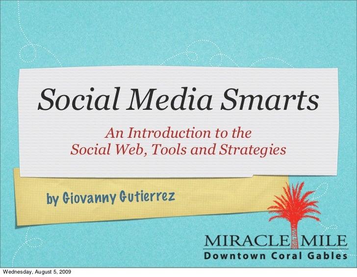 Social Media Smarts