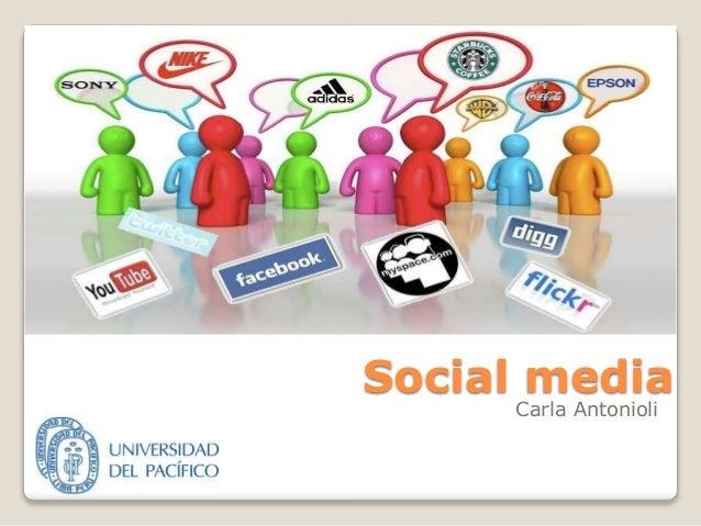 Social media Carla Antonioli