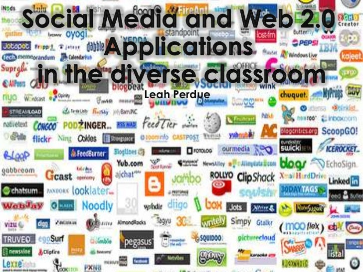 Social Media and Web 2.0 Applications<br /> in the diverse classroom<br />Leah Perdue<br />