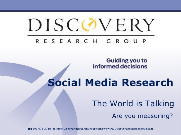 [Product Name] Insert Product Photograph Here  Your Logo  Here (p) 800-678-3748 (e) info@DiscoveryResearchGroup.com (w) ww...