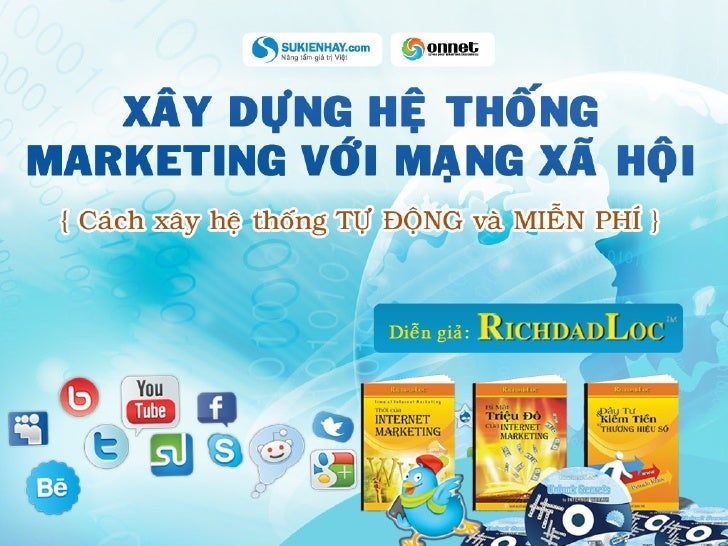 Xây dựng hệ thống Marketing với Mạng Xã Hội