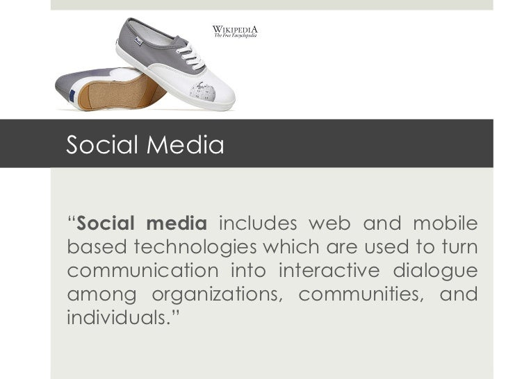 """Social Media""""Social media includes web and mobilebased technologies which are used to turncommunication into interactive d..."""