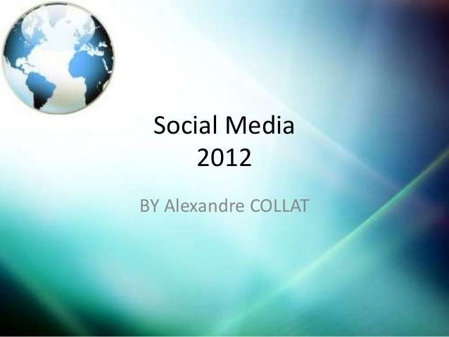 Social Media     2012BY Alexandre COLLAT