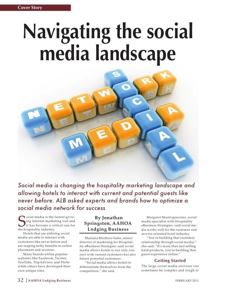 Feb. 2011 Social Media Story