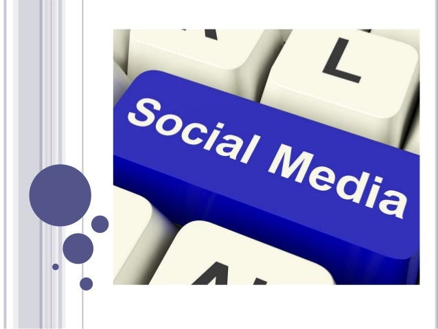 SOCIAL MEDIA  It is a means of interactions among people.  People create, share, exchange and comment the contents.  Do...