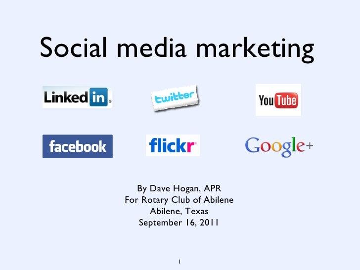Social media abilene rotary-sep2011