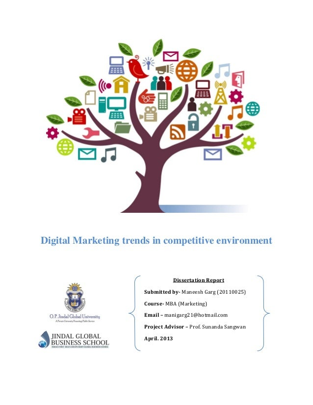 Dissertation Digital Marketing
