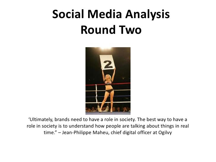 Social Media Presentation - Round Two
