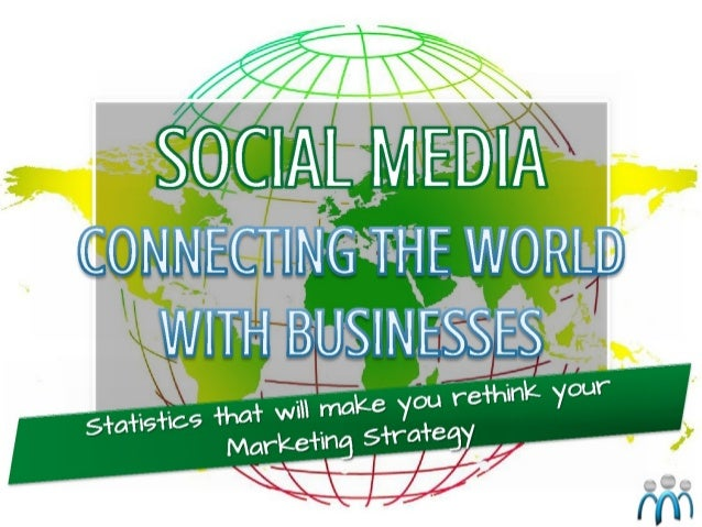 Socialmedia connecting the world with businesses