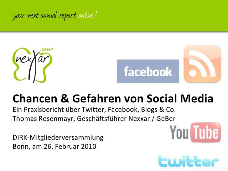 Social Media Dirk Mv 2010 02 26