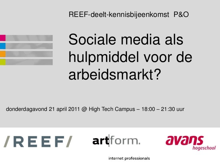 Social media hrm-robdegroot-renevdburgt-042011