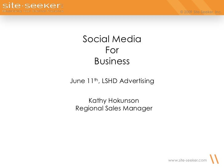 Social Media - Brief Overview