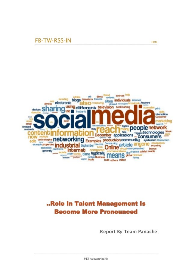 FB-TW-RSS-IN                                  HRM   ..Role In Talent Management Is      Become More Pronounced            ...