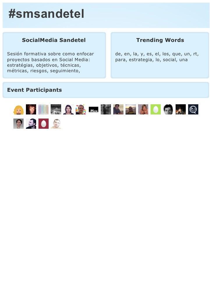 Informe twitter #smsandetel