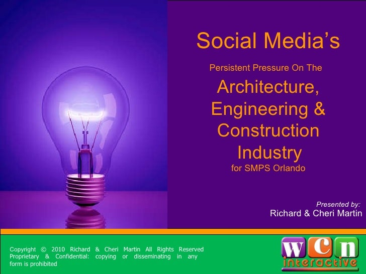 Social Media for Architects, Engineers & Contractors