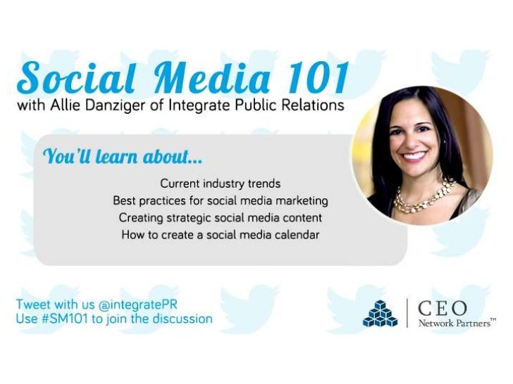 Social Media 101- CEO Network Group