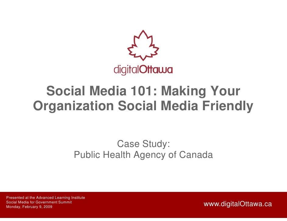 Social Media 101: Making Your                Organization Social Media Friendly                                           ...