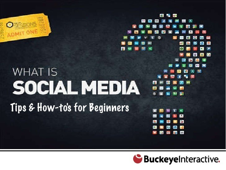 Social Media 101: Tips and How-tos for beginners