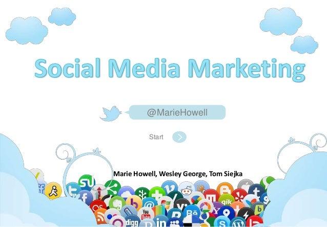 Social Media Marketing 2012-2013
