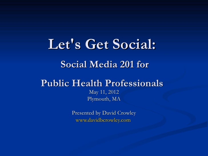Social Media 201 for Nonprofits
