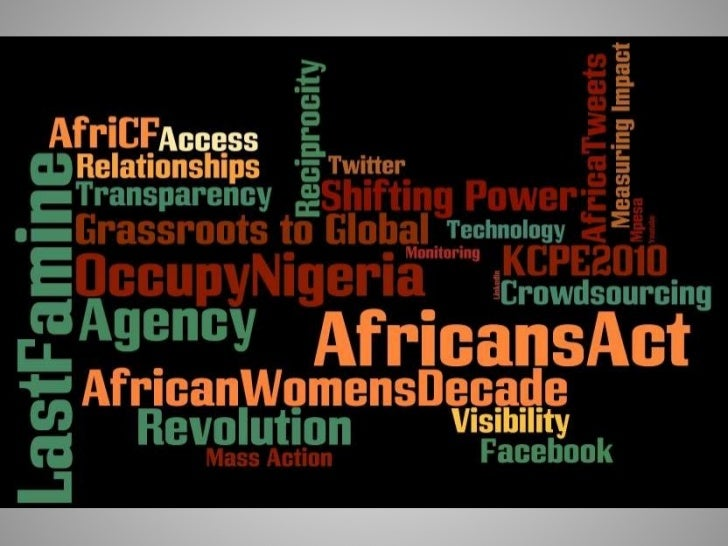 Social Media For Social Change - Africans Act!