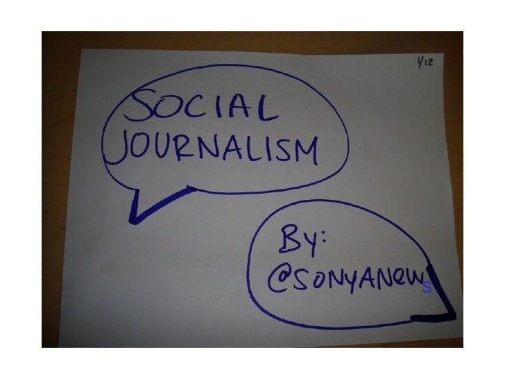 Social Media 4 Journalists