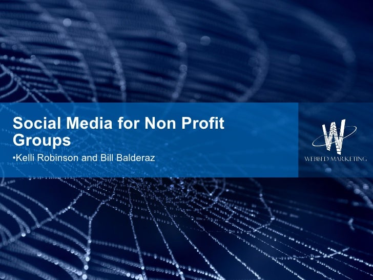 Ohio Web Leaders: Social Media for Non Profit Groups