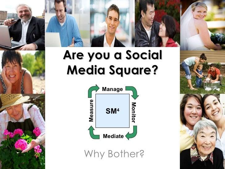 Social media 4 Squares