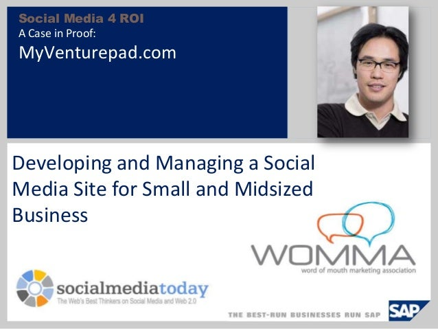 Social Media Today and MVP at Womma 09