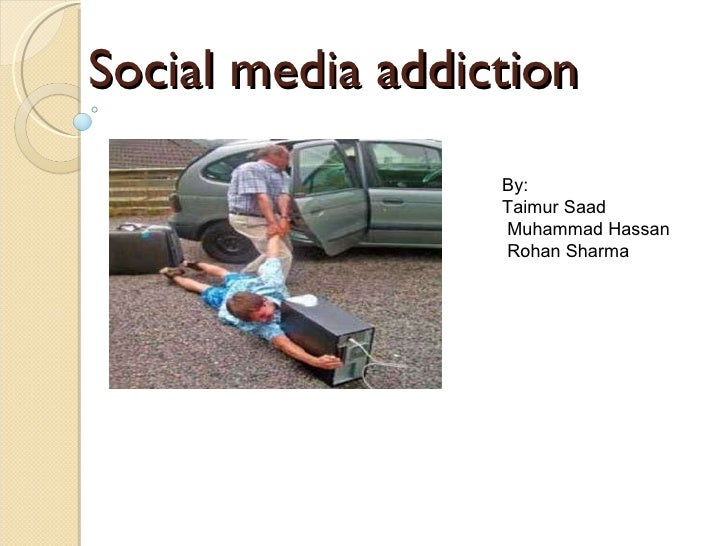 Media Addiction Symptoms Social Media Addiction by