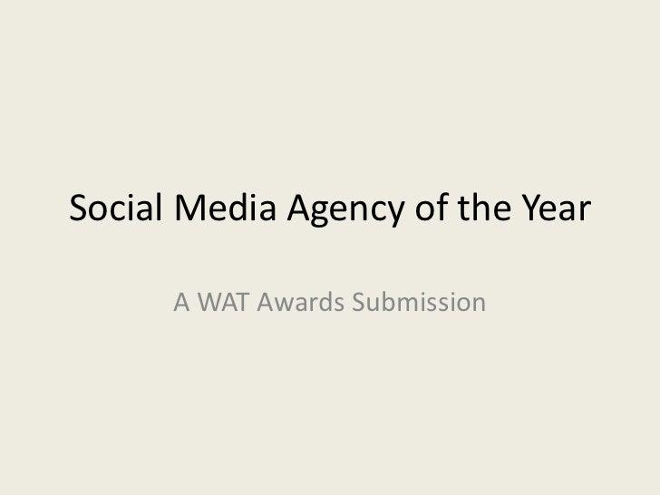Social Media Agency of the Year