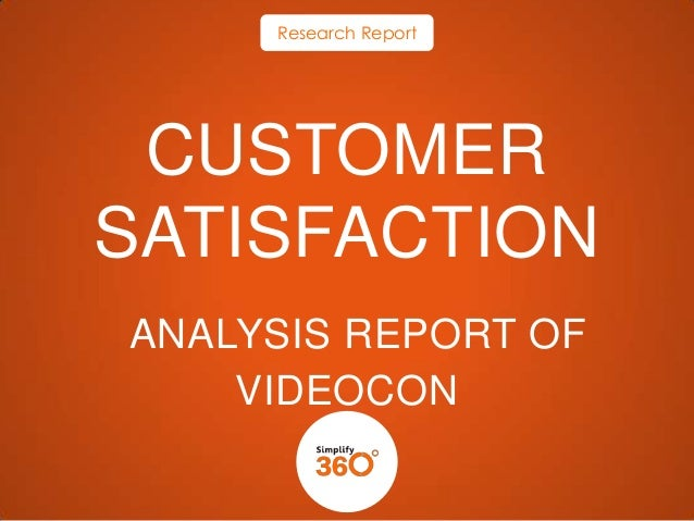 Social Media Analysis Report -   Videocon