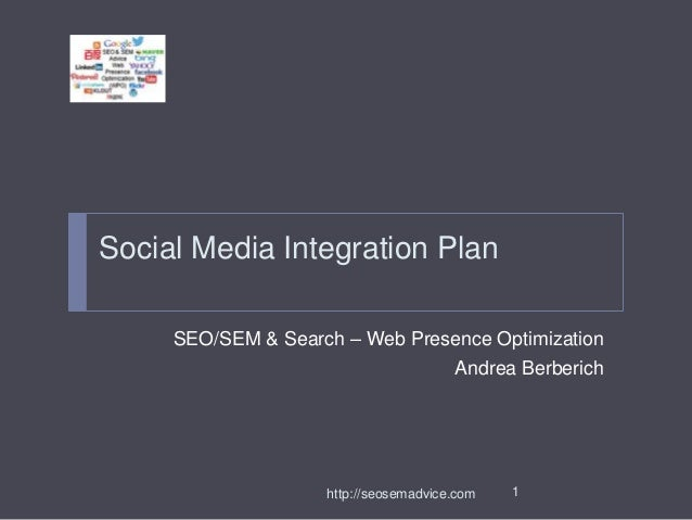 Social Media Analysis & Strategy - revised 1-14-14