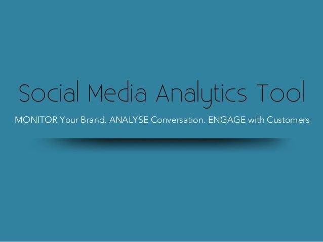 Social media analytics tool new v