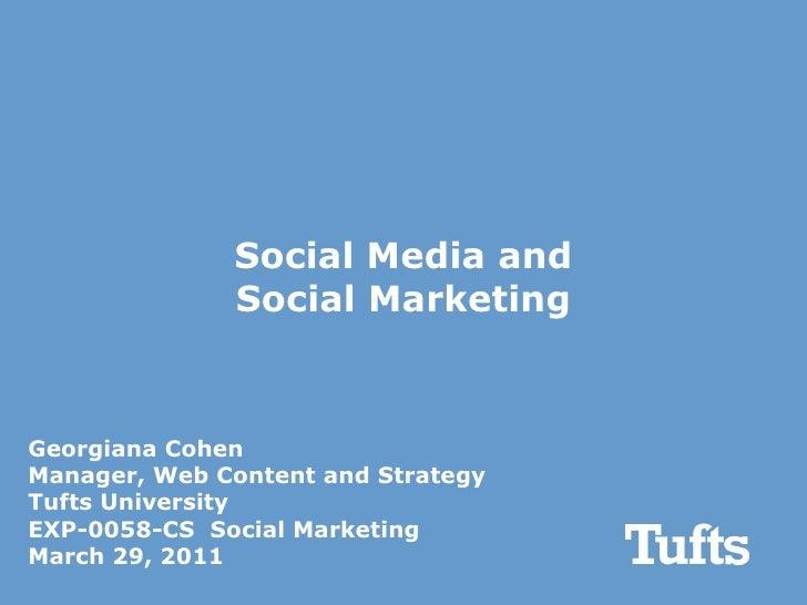 Social Media and Social Marketing