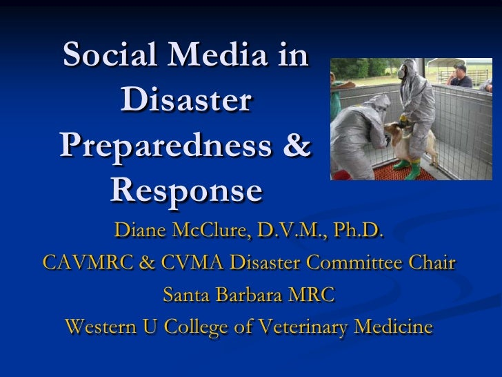 Social Media And Disaster Response Dmc Story